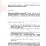 Presentación de escritos ante Ministro de Sanidad y Agencia Española del Medicamento.