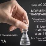 5 de Mayo de 11-16H. Manifestación #PucherazoCodem