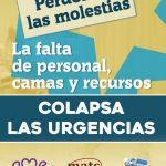 Comunicado conjunto: Las urgencias hospitalarias. ¡¡SOLUCIONES YA!!