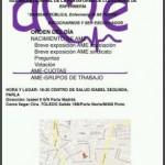 Asamblea Jueves 7 de Enero a las 18.30 C. Salud Isabel II PARLA