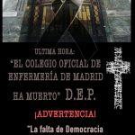 EL SINDICATO DE ENFERMERÍA SATSE TOMA EL CONTROL DE LA GESTIÓN DEL COLEGIO DE ENFERMERÍA DE MADRID.