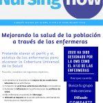 Conviértete en enfermera embajadora #NursingNowMadrid.