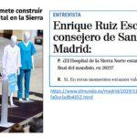 10 razones por las que no creemos necesario un nuevo hospital en la Sierra Norte Madrileña.