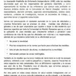 Comunicado de las enfermeras de @madrid_ame ante las medidas anti-covid anunciadas por el Gobierno de la Comunidad de Madrid el pasado viernes.